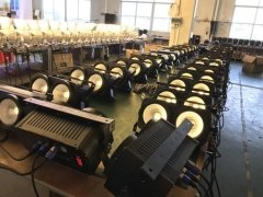 Production Line of LED COB Light 2x100W 2017-11-12