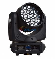 JTLite-M01 19x12w Mac Aura LED RGBW 4in1 Ring Control Zooming Wash Moving Head Light