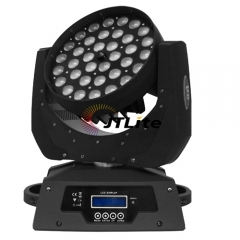 JTLite-M36 36LED Zooming Wash Moving Head Light