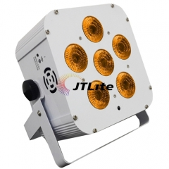 JTLite-BP10 6*18W 6in1 LED Wireless Battery Par Light (White)