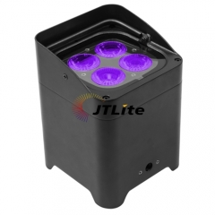 JTLite-BP07 4*18W 6 in 1 LED Wireless Battery Par Light (APP control)