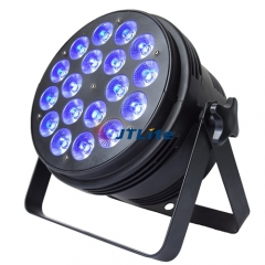 JTLite-P08C 18LED RGBW, RGBWA, RGBWAUv Par Wash Light